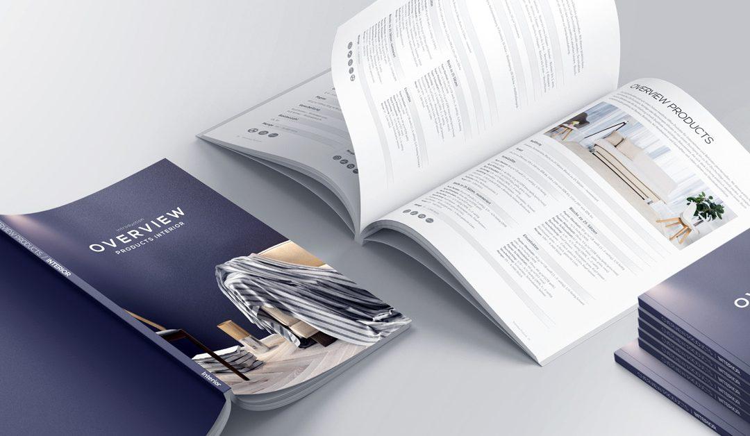 Marktlancering van nieuwe budget brochures